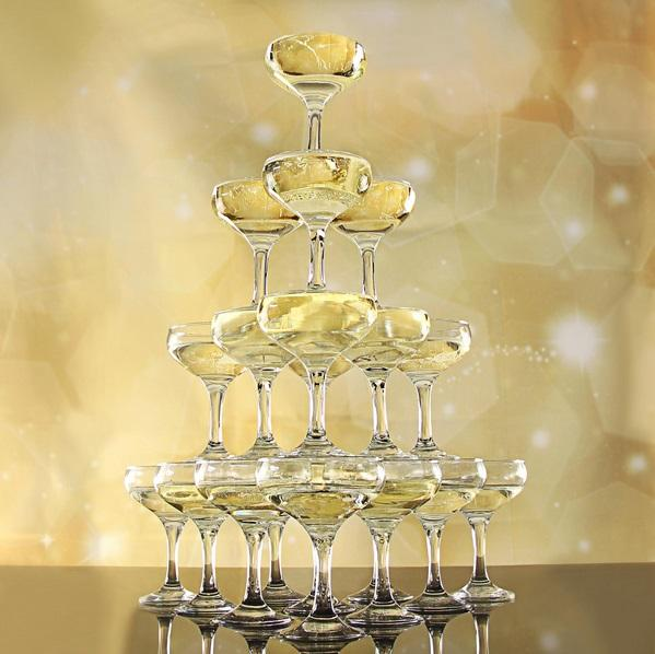 Champagne tower Set